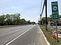 2018-05-25 14 53 19 View north along New Jersey State Route 36 between Harris Avenue and Shore Road on the border of Hazlet Township and Union Beach in Monmouth County, New Jersey.jpg