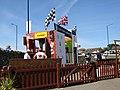 2018-08-01 Sheringham Carnival, Tyne club float, Sheringham (3).JPG