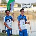 2018-08-07 World Rowing Junior Championships (Opening Ceremony) by Sandro Halank–143.jpg