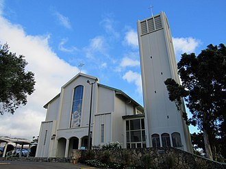 Co-Cathedral of Saint Theresa of the Child Jesus (Honolulu, Hawaii) - Image: 2018 Co Cathedral of Saint Theresa of the Child Jesus Honolulu 02