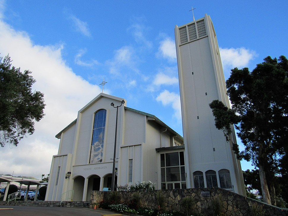 2018 Co-Cathedral of Saint Theresa of the Child Jesus - Honolulu 02