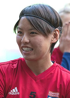 Saki Kumagai Japanese association football player