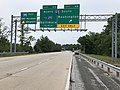 2019-06-05 16 09 41 View east along Interstate 195 (Metropolitan Boulevard) at Exit 4B (Interstate 95 SOUTH, Washington) in Arbutus, Baltimore County, Maryland.jpg