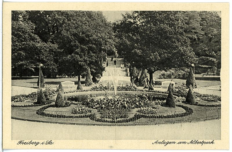 File:21487-Freiberg-1920-Albertpark-Brück & Sohn Kunstverlag.jpg