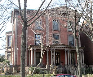Charles Pratt - Pratt's city home in Brooklyn, built 1874-75