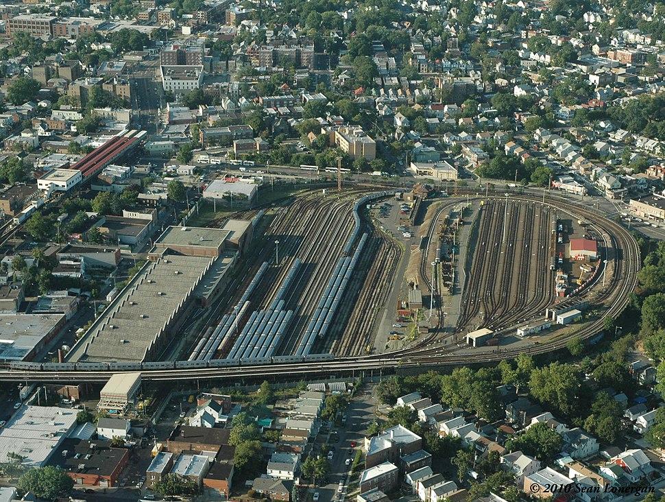 239th Street Yard, NYC IRT Subway, Summer, 2010
