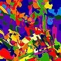 27. Pielgrzymka gałki ocznej. Aleatoryzm. Akryl.60x60 cm. 2016.jpg