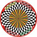 2 Team 2 Players Circular Chess (Together) variant in 6 Players Circular Chess invented by Hridayeshwar Singh Bhati.JPG