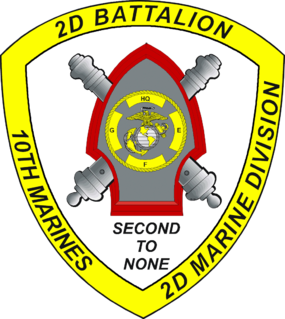 2nd Battalion, 10th Marines
