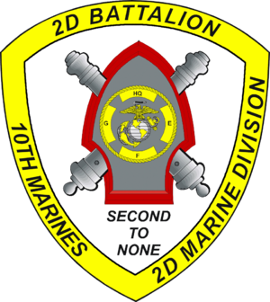 2nd Battalion, 10th Marines - 2/10 Insignia