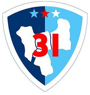 31st Division (Philippines) - 31st Philippine Division Emblem 1941-42