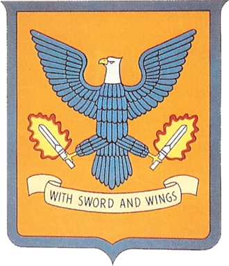 122d Fighter Wing - World War II 358th Fighter Group emblem