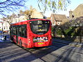 393 bus at Clapton Pond, E5 (8278543751).jpg