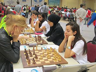 40th Chess Olympiad - Chess match in the women's event
