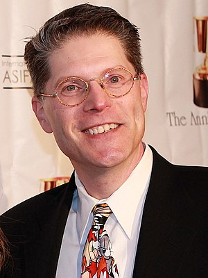 Bob Bergen - Bergen at the 2014 Annie Awards