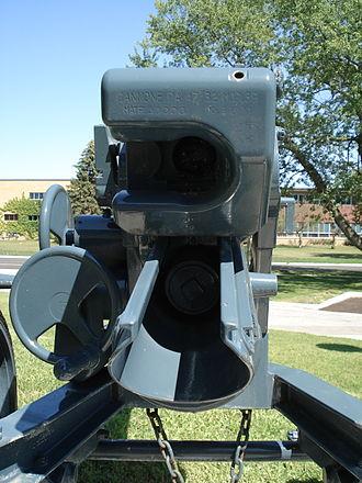Cannone da 47/32 - Image: 47mm 47 32 anti tank gun cfb borden 3