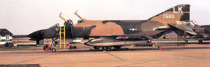 493d Fighter Squadron - 493d TFS F-4D-30-MC Phantom - 66-7563