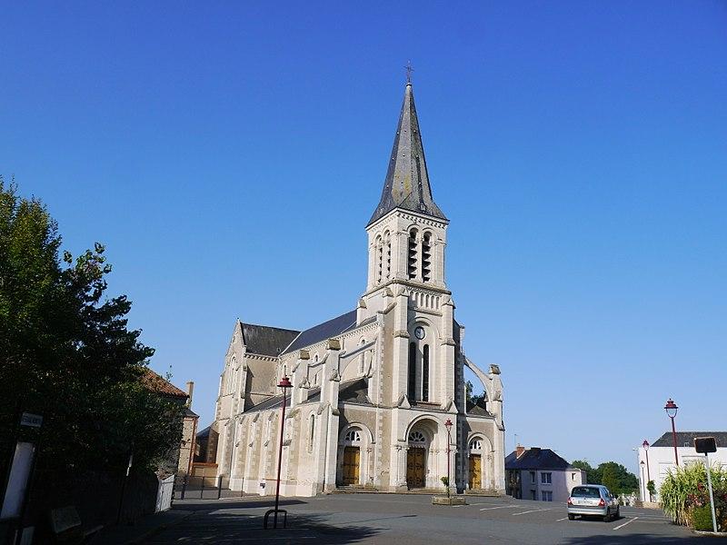 L'église Saint-Cyr et Sainte-Julitte.