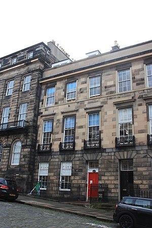 John Montgomerie Bell - 4 Forres Street, Edinburgh