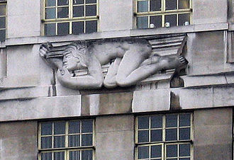 Eric Gill - Image: 55Broadway Eric Gill North Wind