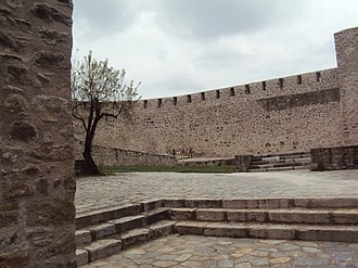 Thessaly - Part of the Byzantine castle of Trikala