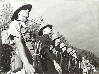 Victorian Scottish Regiment - Image: 5th Bn, Victorian Scottish Regiment Apr 1940