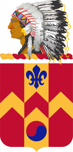 700th Support Battalion (United States) - Coat of arms