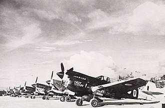 Australian First Tactical Air Force - No. 78 Squadron Kittyhawks, Noemfoor, 1944