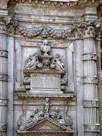 8221 - Venezia - Heinrich Meyring, Cenotafio di Vincenzo Fini (+1726) - San Moisè - Foto Giovanni Dall'Orto, 12-Aug-2007.jpg