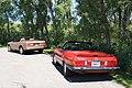 88 Mercedes 560 SL & 87 Cadillac Allante (9453605613).jpg