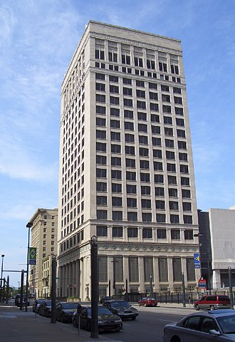 Federal Reserve Bank of Kansas City - 925 Grand, designed by Graham, Anderson, Probst & White, 1921.