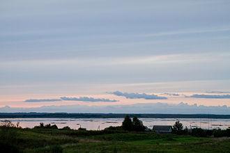 Lake Osveya - Image: Aśviejskaje 1
