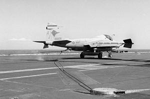 A-6E VA-36 landing on USS Abraham Lincoln (CVN-72) 1990.JPEG