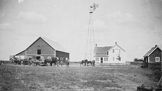 Warman, Saskatchewan - A. Buhler Farm near Warman, ca. 1910