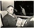 A.K. Stevens on train from Chicago to Ann Arbor, 1948.jpg