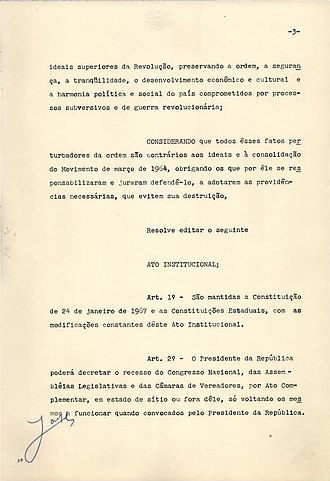 Institutional Act Number Five - Image: AI 5 fl.03
