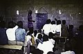 ASC Leiden - Rietveld Collection - East Africa 1975 - 05 - 027 - A village school. A black female teacher teaches black boys in white shirts how to add numbers - Zambia or Zimbabwe.jpg