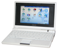An ASUS Eee PC netbook.
