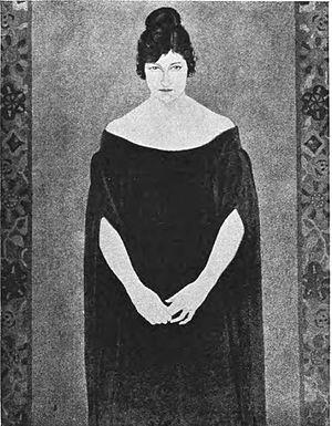 Raymond Jonson - Image: A Lady Blue and Mauve by C. Raymond Johnson
