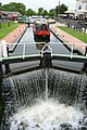 A Narrow Boat Enters Trent Lock - geograph.org.uk - 871340.jpg