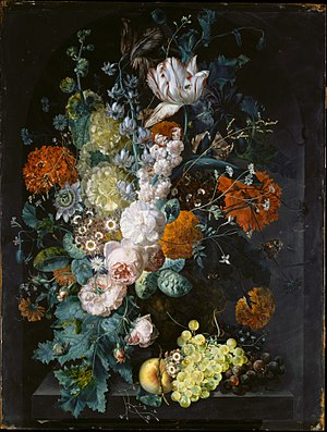 Wikipedia & A Vase of Flowers (1716) - Wikipedia