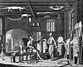 A chemist's laboratory, with the apparatus numbered for a ke Wellcome L0004338.jpg