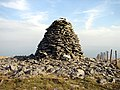A close-up of the cairn on Trum Gelli - geograph.org.uk - 932338.jpg
