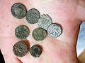 A close up of Barry Segers coins..jpg
