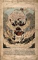 A fiery demon representing the chaos of the Paris Commune an Wellcome V0011991.jpg
