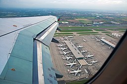 A glimpse of Terminal 5, Heathrow, Sept. 2010 - Flickr - PhillipC
