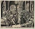 A hospital ward showing sick patients being tended to by med Wellcome V0015207.jpg