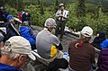 A park ranger gives a campground program about wolves at the Wonder Lake Campground on Tuesday, June 20, 2017. (7a1bcec5-8bf6-4183-ab5e-be89e82f87c1).JPG