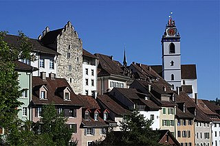 Aarau Municipality in Switzerland in Aargau