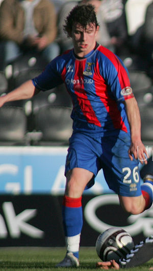 Aaron Doran - Doran playing for Inverness in 2011